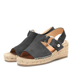 Women's PU Wedge Heel Sandals Wedges Peep Toe With Others shoes