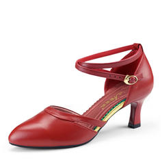 Women's Latin Heels Real Leather Latin