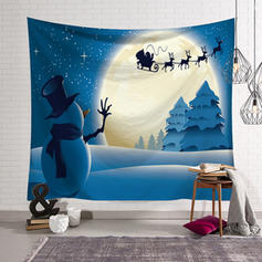 Modern Classic Christmas Rectangle Still Life Wall Tapestries