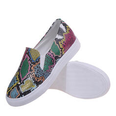 Women's PU Flat Heel Flats With Others shoes
