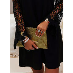 Lace/Solid Long Sleeves/Cold Shoulder Sleeve Shift Above Knee Little Black/Casual/Elegant Tunic Dresses