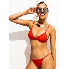 Low Waist Thong Strap Sexy Bikinis Swimsuits