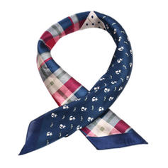Plaid Square/Light Weight Square scarf