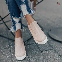 Women's Leatherette Wedge Heel Wedges With Elastic Band shoes