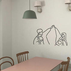 Modern Any Shape People Wall Stickers