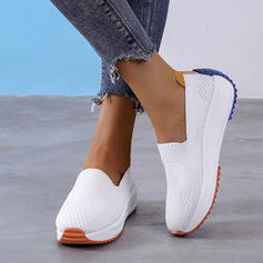 Women's Flying Weave Others Flats With Others Splice Color shoes