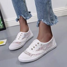 Women's Lace With Stitching Lace shoes