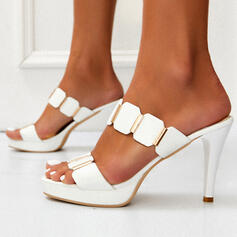 Women's PU Stiletto Heel With Others shoes