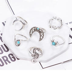 Unique Sexy Alloy Rings
