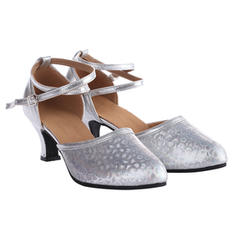 Women's Ballroom Swing Heels Leatherette Latin