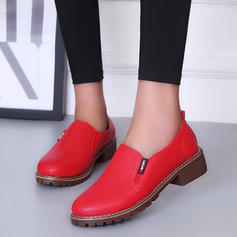 Women's PU Low Heel Pumps With Others shoes
