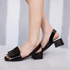Women's PU Low Heel Flats With Others shoes