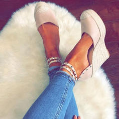 Women's PU Wedge Heel Platform Wedges With Others shoes
