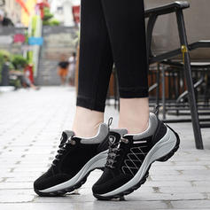 Women's Suede Casual Outdoor With Rivet Lace-up shoes