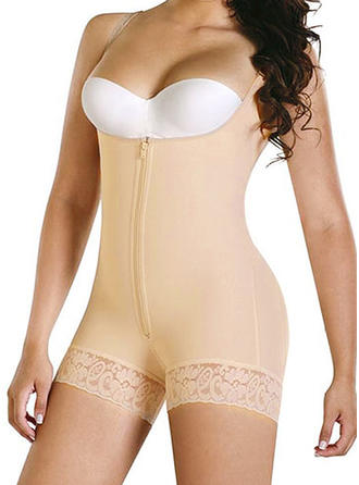 Cotton Blends Lace Shapewear