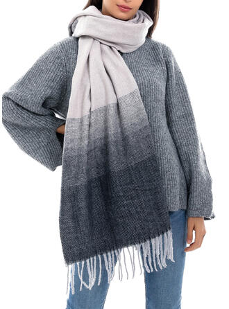 Gradient color Cold weather Scarf
