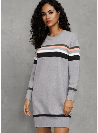 Striped Round Neck Tunic