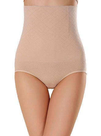 Chinlon Solid färg Shapewear