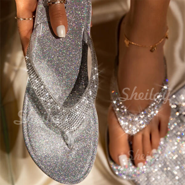 Women's Suede Leatherette Flat Heel Sandals Flats Peep Toe Slingbacks Flip-Flops Slippers With Animal Print Solid Color shoes