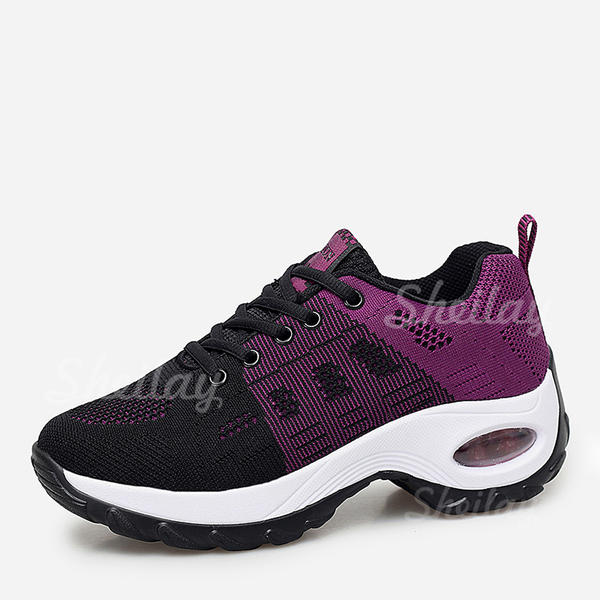 Women's Mesh Casual With Satin Flower Lace-up shoes